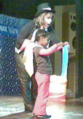 The Magic Valery show at school
